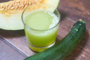 Saft Melone Zucchini