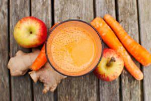 Saft Apfel Karotte