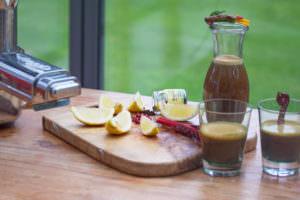 Saft Granatapfel Mangold Vanille